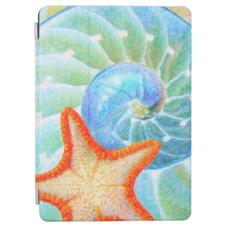 Nautilus And Starfish iPad Air Cover