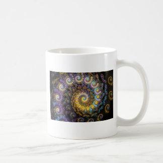 Nautilus fractal beauty coffee mug