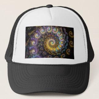Nautilus fractal beauty trucker hat
