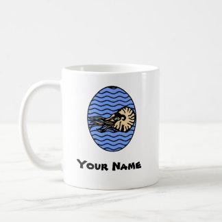 Nautilus Graphic Mug with Your Name