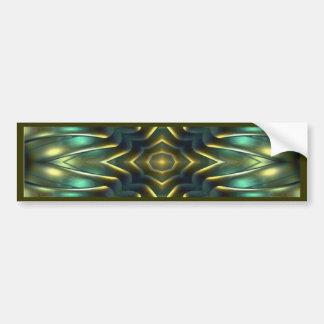 Nautilus Kaleidoscope Design No.12 Bumper Stickers