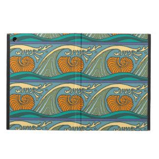 Nautilus Seashell Pattern Nouveau iPad Air Cover