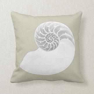 Nautilus Shell Cushion