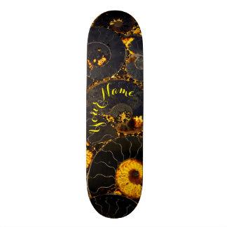 Nautilus shell design 20.6 cm skateboard deck
