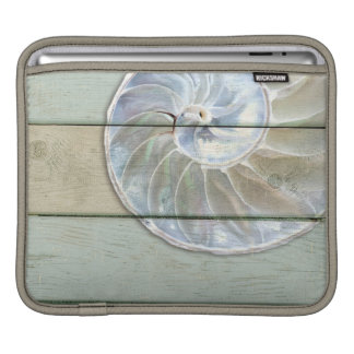 Nautilus Shell iPad Sleeve