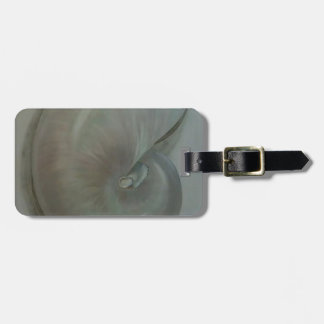 ''Nautilus Shell'' Luggage Tag