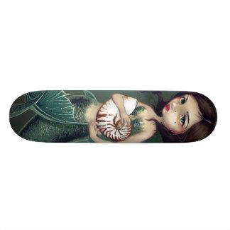 Nautilus Shell Mermaid Skateboard