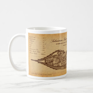 Nautilus SLS on Parchment by David McCamant Coffee Mug