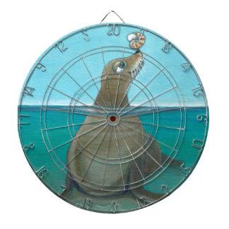 """Nautilus"" The Sea Lion Dartboard"