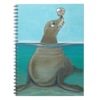 """Nautilus"" The Sea Lion Notebook"