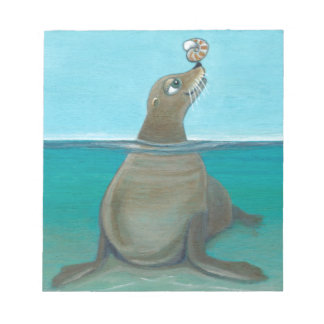 """Nautilus"" The Sea Lion Notepad"