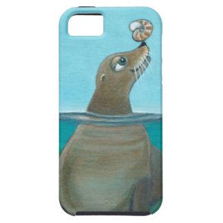 """Nautilus"" The Sea Lion Tough iPhone 5 Case"