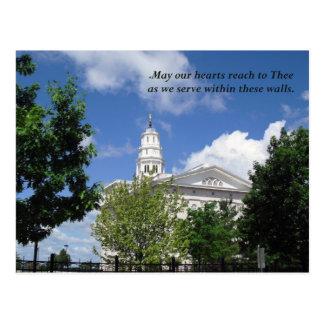 Nauvoo Temple Service Postcard