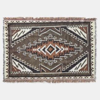 Navajo Anna Nez Throw Blanket