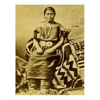 Navajo Blanket Weaver Postcard