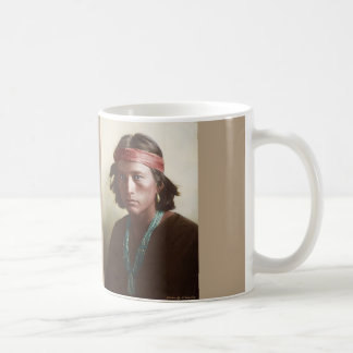Navajo Boy 1907 Coffee Mug