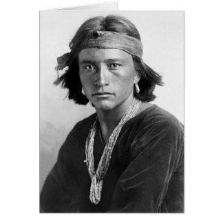 Navajo Boy Card