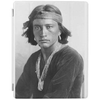 Navajo Boy - Historic Photo by Karl E. Moon iPad Cover