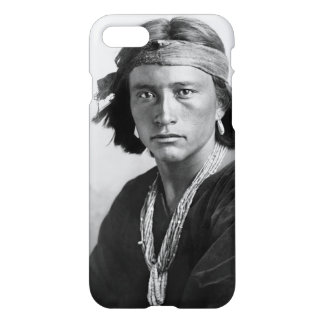 Navajo Boy - Historic Photo by Karl E. Moon iPhone 8/7 Case