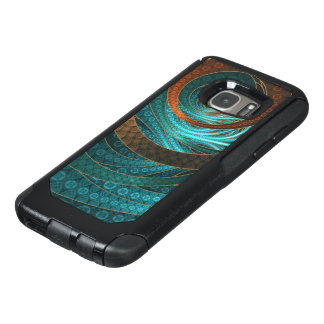 Navajo Bracelets in Turquoise, Gold & Brown Bands OtterBox Samsung Galaxy S7 Case