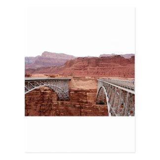 Navajo Bridge over Colorado River, Arizona, USA Postcard