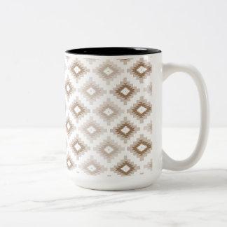Navajo Brown Two-Tone Coffee Mug