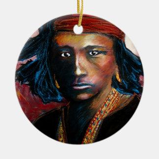 Navajo Ceramic Ornament