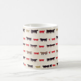 Navajo Charming Cow Pattern Coffee Mug
