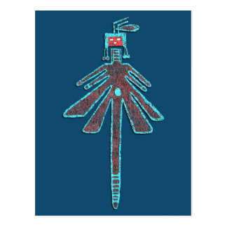 Navajo Dragonfly, Insect Mythology Postcard