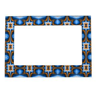 Navajo Fractal Star Magnetic Picture Frame