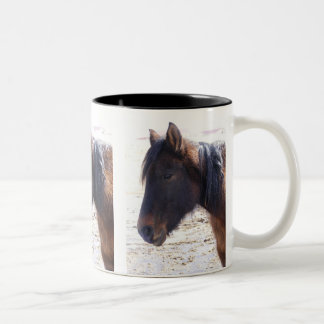 Navajo Mustang Two-Tone Coffee Mug