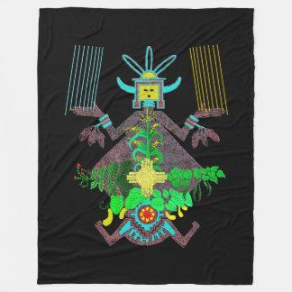 Navajo Mythology Fleece Blanket