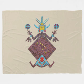 Navajo Mythology Fleece Blanket