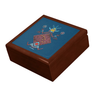 Navajo Mythology Large Square Gift Box