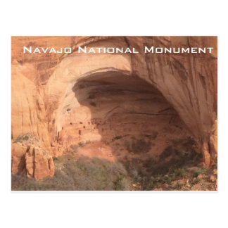 Navajo National Monument Postcard