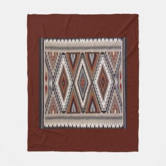 Navajo Rug 3 Fleece Blanket