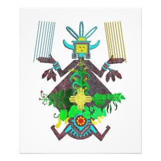Navajo Sand Painting and Mythology Photograph