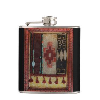 Navajo Tibetan Hybrid Mug Hip Flask