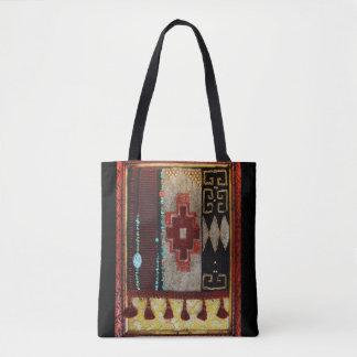 Navajo Tibetan Hybrid Tote Bag