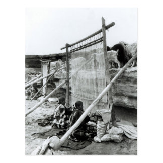 Navajo weavers, c.1914 postcard