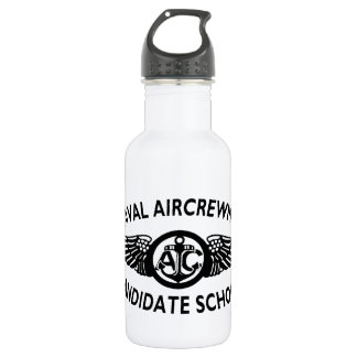 Naval Aircrew Candidate SPORTS BOTTLE. Old School! 532 Ml Water Bottle