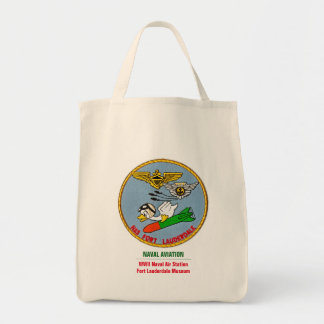 Naval Aviation Torpedo Duck Grocery Tote Bag
