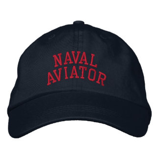 Naval Aviator Embroidered Hat