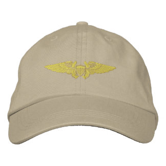 Naval Flight Officer Embroidered Hat