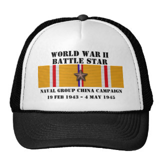 Naval Group China Campaign Hat