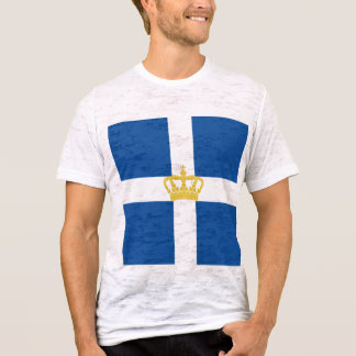 Naval Jack Kingdom Greece, Greece T-Shirt