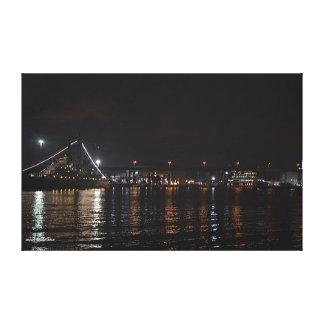 Naval Park at Night Canvas Print
