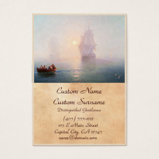 Naval Ship Ivan Aivazovsky seascape waterscape sea