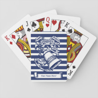 Naval style playing cards