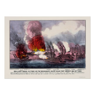 Naval Victory by  1862 Poster